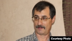 Казахстанский правозащитник Евгений Жовтис. Алматы, август 2015 года.