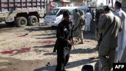 После взрыва в Кхаре, 4 мая 2012