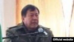 Министр внутренних дел Таджикистана Рамазон Рахимзода.