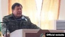 Рамазон Рахимзода, глава МВД Таджикистана
