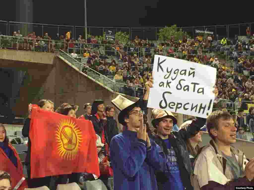 12-ноябрда Канберра шаарында Кыргызстан менен Австралия командаларынын кезектеги беттеши өттү.Австралия менен Кыргызстандын футбол боюнча улуттук курама командаларынын беттеши 3:0 эсебинде австралиялыктардын пайдасы менен аяктады.