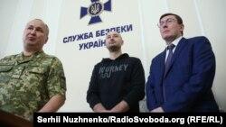 Аркадий Бабченко на брифинге в СБУ 30 мая 2018 в Киеве