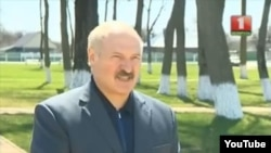 Лукашэнка ў Хойніках