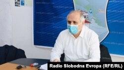 Градоначалникот на Општина Дебар Хекуран Дука.