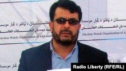 جانداد سپین غز رئیس دیدهبان انتخابات افغانستان یا اکسین