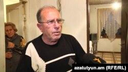 Отец Сероба Барфяна Размик Барфян беседует с Радио Азатутюн, Таперакан, 26 ноября 2019 г․