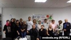Удзельнікі дыскусіі. Фота Ўладзіслава Барысевіча