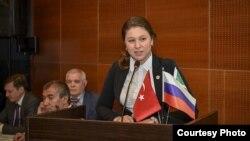 Талия Минуллина (фото: Tatarturk.com)