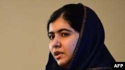 Pakistani activist Malala Yousafzai (file photo)