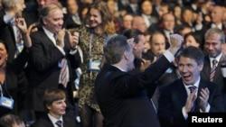 Цюрихда Россия делегациясининг қувончи