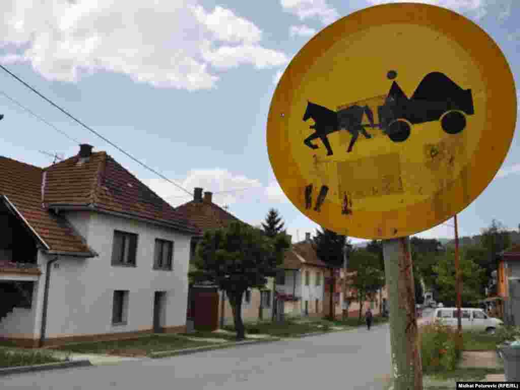 Rudo, jedna od ulica - FOTOGRAFIJE: Midhat Poturović