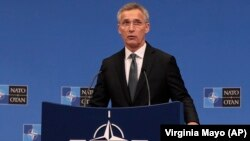 NATO Secretary-General Jens Stoltenberg told a press conference in Brussels on June 25 that a total of eight member states are expected to spend at least 2 percent of their GDP on defense in 2019.