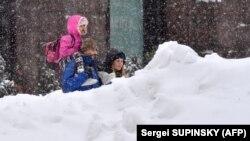 Снігопад у Києві, 1 березня 2018 року