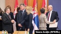 Sa sastanka u Beogradu, foto: Vesna Anđić