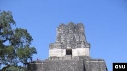 "Пирамида майя в Тикале. Гватемала.<a href = ""http://en.wikipedia.org/wiki/Image:Tikal6.jpg"" target=_blank>GNU Free Documentation License.</a>"