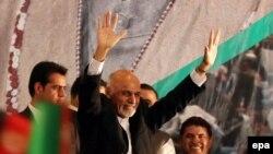 Новый президент Афганистана Мохаммад Ашраф Гани Ахмадзай. Кабул, 22 сентября