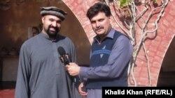 دغني خان لمسی مشال خان زمونږ د خبریال سره