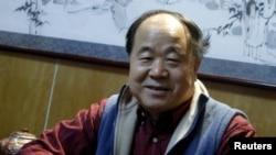 Қытай жазушысы Мо Янь. Пекин, 24 желтоқсан 2009 ж.
