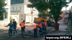 У Сімферополі рапортують про закінчення ямкового ремонту доріг