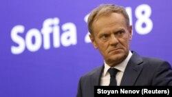 دونالد توسک رییس شورای اروپا
