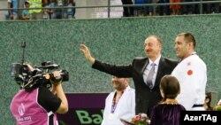 Azərbaycan prezidenti İlham Əliyev, Avropa Oyunlarında