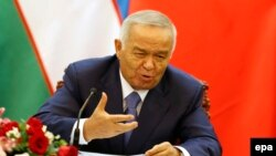 Өзбекстан президенті Ислам Каримов. Пекин, 19 тамыз 2014 жыл.