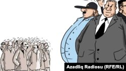 'How is the unemployment rate calculated?'/ Cartoon. Gunduz Aghayev