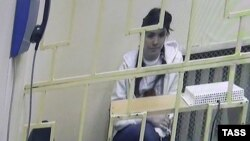 Варвара Караулова в суде Москвы. 19 января 2016 года.