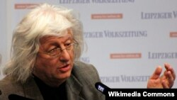 Peter Esterhazy la Târgul de carte de la Leipzig, 2013