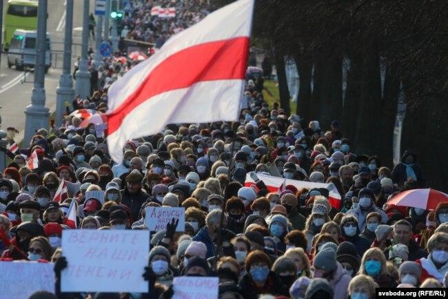Марш пенсіонерів, 9 листопада