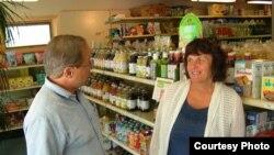 Пол и Бонни Севард, владельцы магазина здоровой пищи