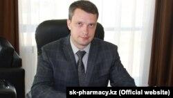 """Максим Касаткин, """"СК-Фармация"""" компаниясының басқарма төрағасы."""