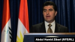 Kurdish Prime Minister Nechirvan Barzani
