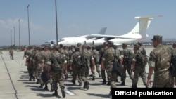 Հայաստանի ՊՆ խաղաղապահ բրիգադի հերթական զորախումբը մեկնում է Գերմանիա, 20-ը հուլիսի, 2016 թ․