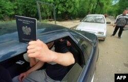 Перетин кордону із польським паспортом