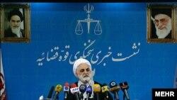 کنفرانس خبری روز دوشنبه غلامحسین محسنی اژهای