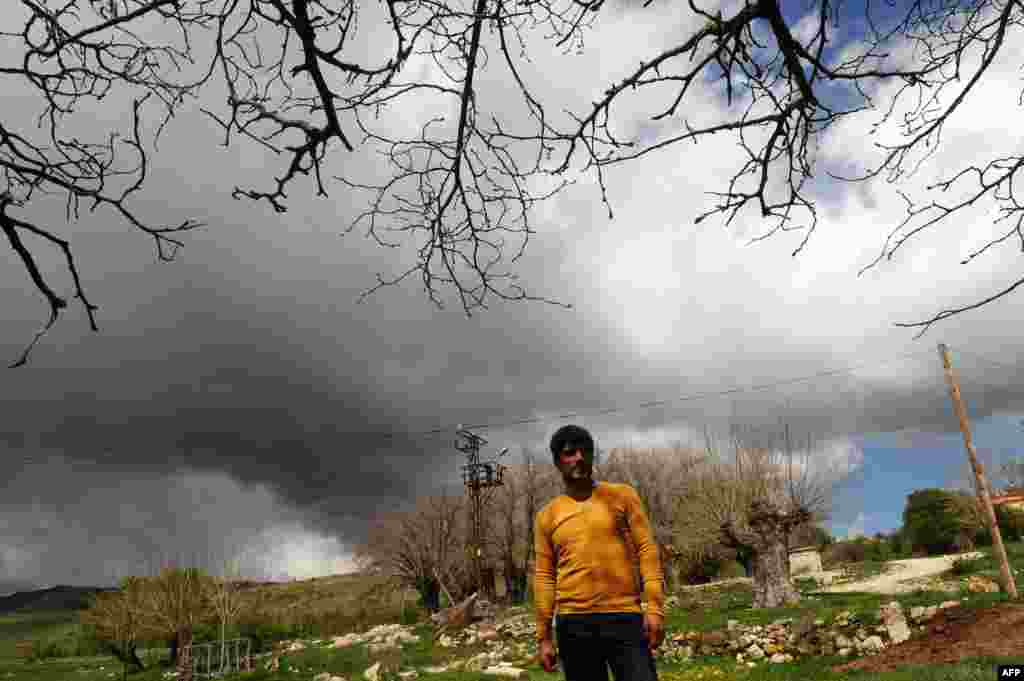 Armenian Muslim Mustafa Boztas poses in the eastern village of Mazgirt, in Turkey's Tunceli Province.