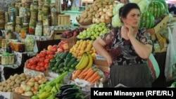 Լեռնային Ղարաբաղ - Ստեփանակերտի շուկան, արխիվ
