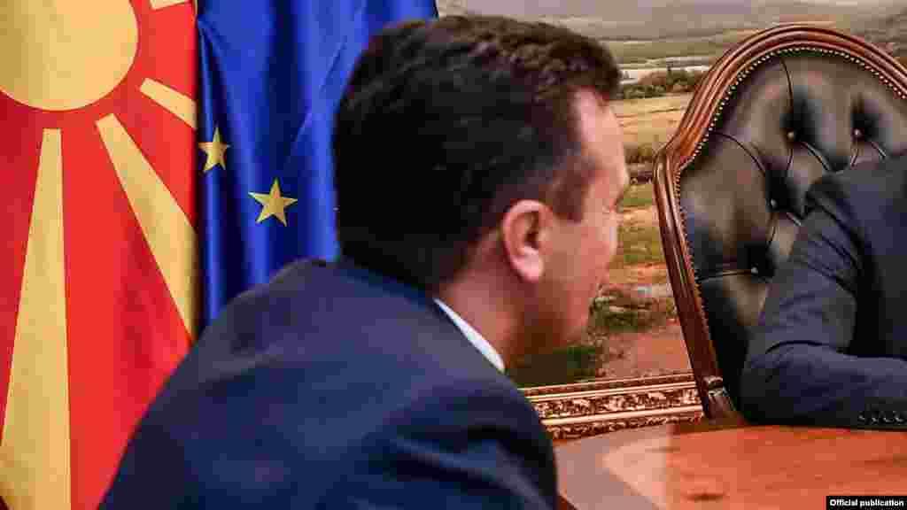 МАКЕДОНИЈА - Премиерот Зоран Заев по Македонско-рускиот бизнис форум во Скопје рече дека реактивирањето на Мешовитата меѓувладина комисија со Русија не значи никаков наводен одговор кон ЕУ, туку единствено заложба за интензивирање на економската соработка.