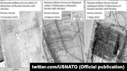 Супутникові фотографії, зроблені НАТО. Війська Росії неподалік кордону з Україною