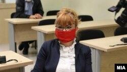 Обвинителката Вилма Русковска во Суд