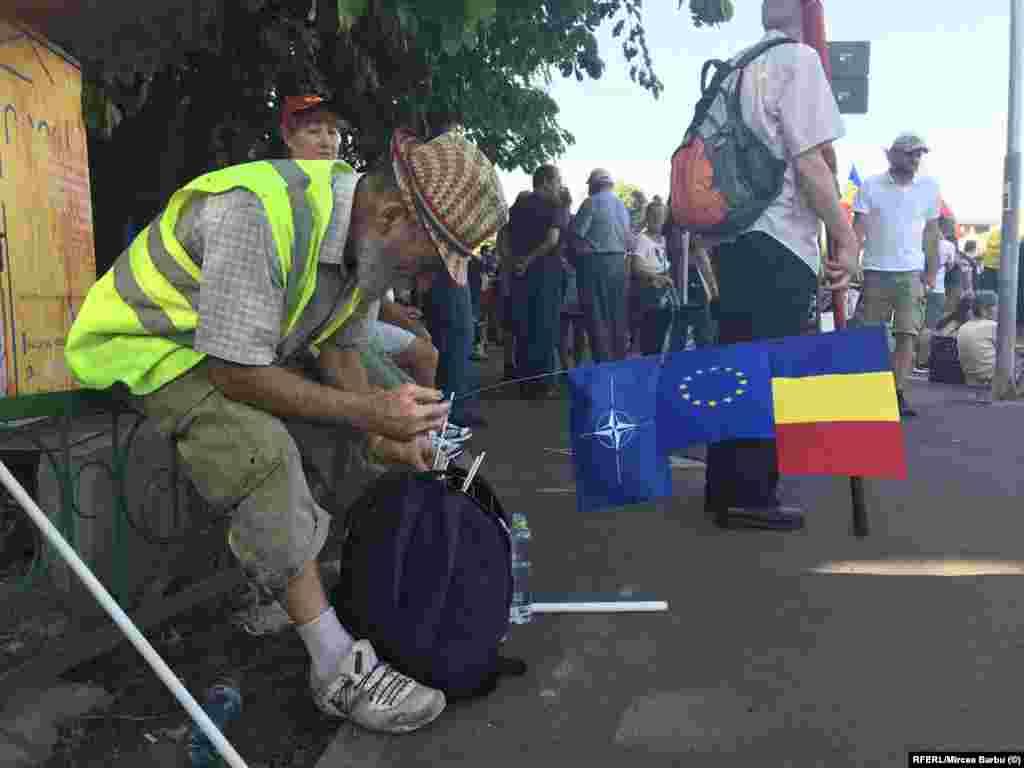 ROMANIA - Piata Victoriei, 10 august 2019