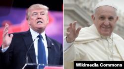 Donald Trump və Roma papası