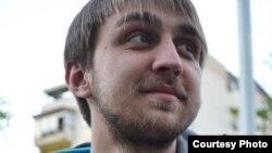 Стефан Алексиќ, член на Младински образовен форум.