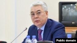 Бейбіт Атамқұлов, Қазақстанның қорғаныс және аэроғарыш өнеркәсібі министрі.