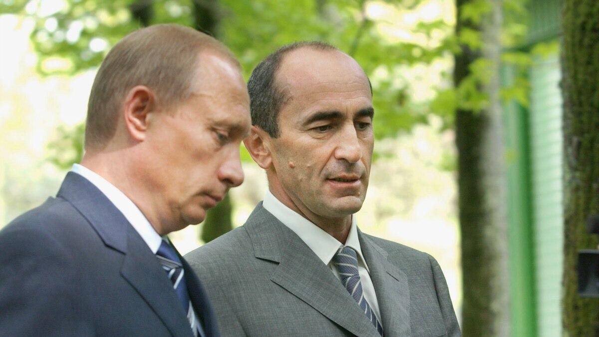 Putin Again Congratulates Kocharian
