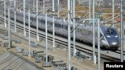 Железная дорога в одной из провинций КНР. Иллюстративное фото