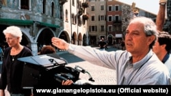 Vittorio Storaro çəkiliş zamanı.