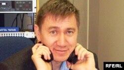 Журналист Ержан Қарабек.