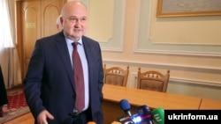 Ігор Смешко в день подання документів до Центральної виборчої комісії, 25 січня 2019 року